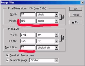 Как сделать картинку нужного размера
